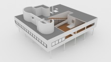 Villa Savoye | FREE 3D MODELS