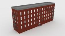 Corner building | FREE 3D MODELS