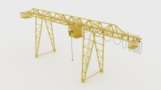 Container Crane | FREE 3D MODELS