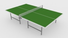 Table Tennis Table | FREE 3D MODELS