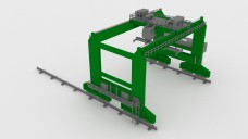 Container Crane   FREE 3D MODELS