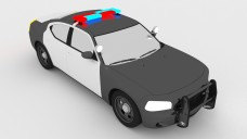 Police Car   FREE 3D MODELS