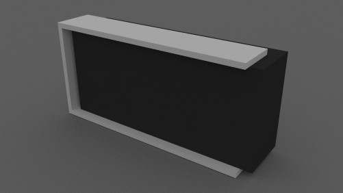 Reception counter | FREE 3D MODELS
