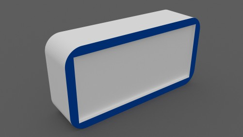 A4 brochure holder | FREE 3D MODELS