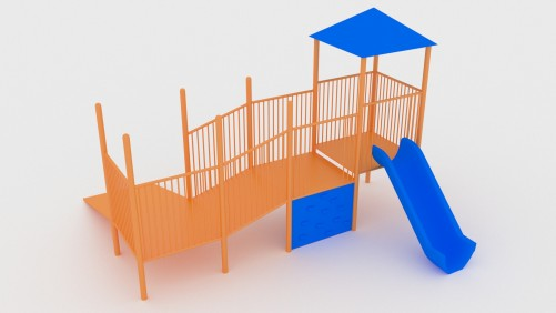 Playground Jungle Gym | FREE 3D MODELS